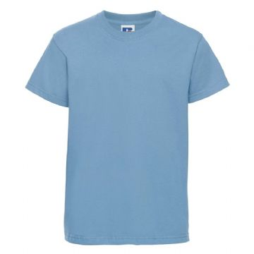 TONGUE  PRIMARY SCHOOL SKY BLUE T- SHIRT WITH LOGO